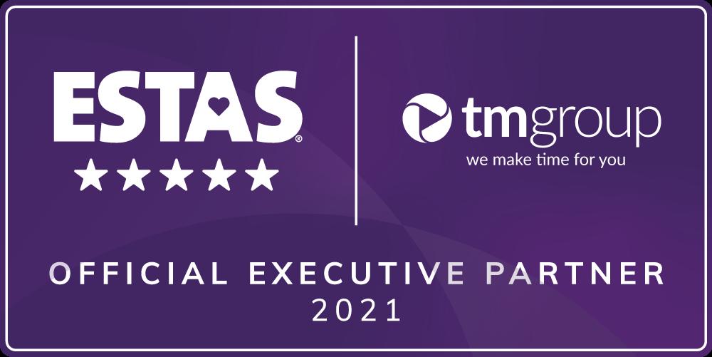 TM Official ESTAS Partner 2021 purple