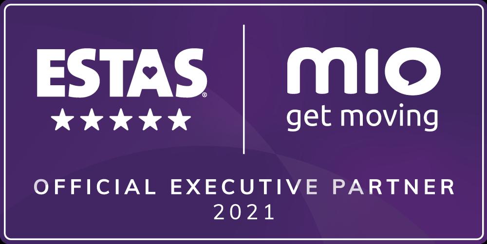 MIO Official ESTAS Partner 2021 purple
